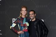 Toni Garrn (L) and Mohammed Al Turki attend Savage X Fenty Show Presented By Amazon Prime Video - Arrivals at Barclays Center on September 10, 2019 in Brooklyn, New York.