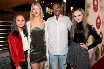 Savannah May Red Carpet Premiere of the Nickelodeon Movie 'Tiny Christmas'