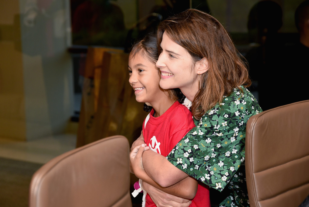 Cobie Smulders Cobie Smulders Photos Save The Children Celebrates International Day Of The Girl In Los Angeles Zimbio