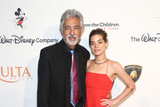 (L-R) Joe Mantegna and Gia Mantegna attend Save The Children's Centennial Celebration: Once in a Lifetime at The Beverly Hilton Hotel on October 02, 2019 in Beverly Hills, California.