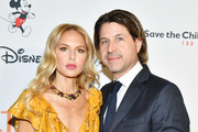 """Rachel Zoe and Rodger Berman attend Save the Children's """"Centennial Celebration: Once In A Lifetime"""" Presented By The Walt Disney Company at The Beverly Hilton Hotel on October 02, 2019 in Beverly Hills, California."""