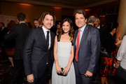 (L-R) Rodger Berman, Norah Weinstein and Mark Shriver attend Save The Children's Centennial Celebration: Once in a Lifetime at The Beverly Hilton Hotel on October 02, 2019 in Beverly Hills, California.
