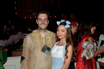 Scarlett Byrne Playboy and Hugh Hefner Host Annual Halloween Party at the Playboy Mansion