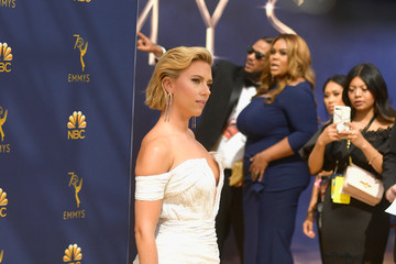 Scarlett Johansson 70th Emmy Awards - Arrivals