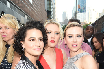 Scarlett Johansson New York Premiere of Sony's ROUGH NIGHT Presented by SVEDKA Vodka