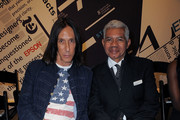 Edward Tricomi and Freddie Leiba (R) attend Language Of Fashion presented by the School of Visual Arts on September 8, 2016 in New York City.