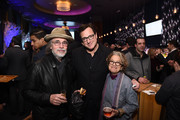 Jackson Browne, Bob Saget and  Susan Feniger attend Scleroderma Research Foundation's Cool Comedy - Hot Cuisine New York 2018 at 48 Lounge on December 11, 2018 in New York City.