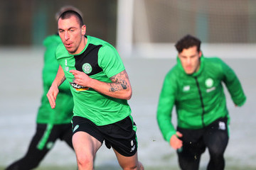 Scott Brown Celtic Training Session