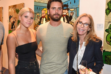 Scott Disick Haute Living's VIP Pop-Up Opening Of Alec Monopoly From Art Life And David Yarrow From Medal's Gallery