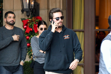 Scott Disick Celebrity Sightings In Los Angeles - December 28, 2017