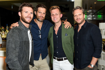 Scott Eastwood Ira And Bill DeWitt Host Saint Candle Launch Benefiting St. Jude Children's Research Hospital At Mr. Chow