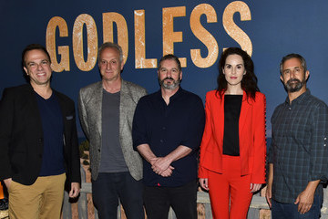 Scott Frank Netflix Celebrates 12 Emmy Nominations For 'Godless' - Arrivals
