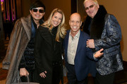 """(L-R) Newman Arndt, Tracie Hamilton, Scott Hamilton and Johnathon Arndt attend the second annual """"An Evening Of Scott Hamilton & Friends"""" hosted by Scott Hamilton to benefit The Scott Hamilton CARES Foundation on November 19, 2017 in Nashville, Tennessee."""