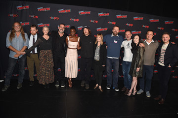 Scott M. Gimple Angela Kang NYCC Panel And Fan Screening Of 'The Walking Dead' 901