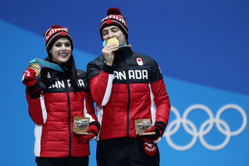 Scott Moir Medal Ceremony - Winter Olympics Day 11