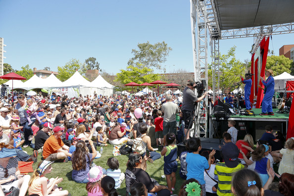 Celebs at the LA Times Festival of Books