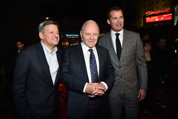 Scott Stuber Ted Sarandos AFI FEST 2019 Presented By Audi – 'The Two Popes' Premiere – Red Carpet