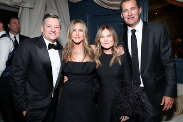 Scott Stuber Ted Sarandos Netflix 2020 Golden Globes After Party