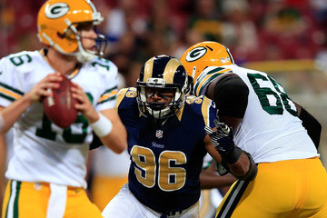 Scott Tolzien Green Bay Packers v St Louis Rams