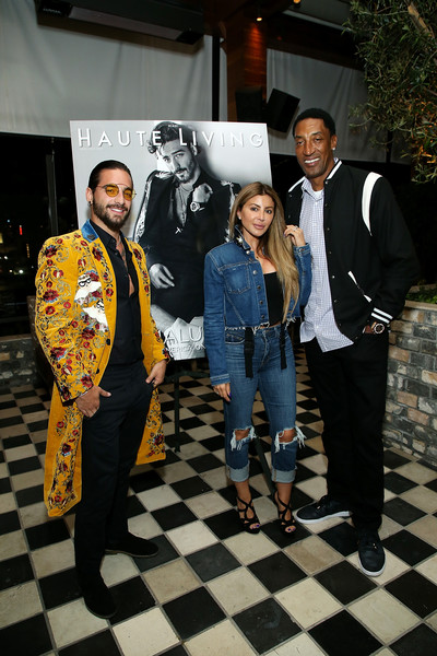 Haute Living Celebrates Maluma With JetSmarter And Ciroc [yellow,event,fun,recreation,costume,games,style,performance,art,ciroc,haute living celebrates maluma,jetsmarter,scottie pippen,larsa pippen,l-r,dream hollywood,hollywood,california,the highlight room]