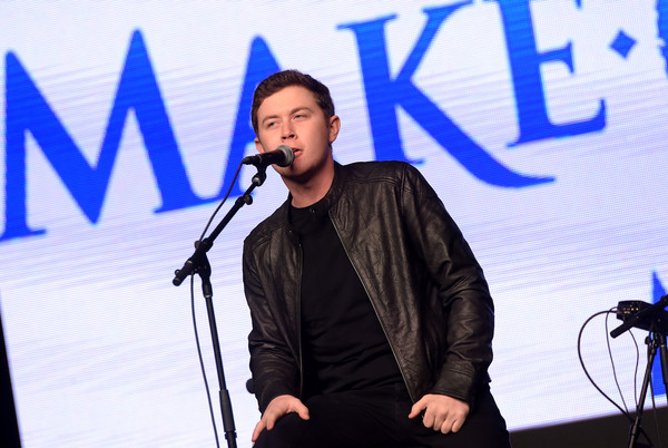 Scotty McCreery Scotty McCreery performs onstage during 'Stars For Wishes' 2015 on January 17, 2015 in Nashville, Tennessee.