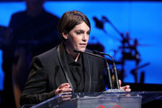 Megan Ellison speaks onstage during the Screen Actors Guild Foundation 30th Anniversary Celebration at Wallis Annenberg Center for the Performing Arts on November 5, 2015 in Beverly Hills, California.