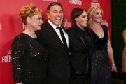 (L-R) Actress Virginia Madsen, director David O. Russell, honoree Megan Ellison and actress Elisabeth Rohm attend the Screen Actors Guild Foundation 30th Anniversary Celebration at Wallis Annenberg Center for the Performing Arts on November 5, 2015 in Beverly Hills, California.