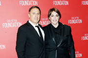 Director David O. Russell (L) and producer Megan Ellison attend the Screen Actors Guild Foundation 30th Anniversary Celebration at the Wallis Annenberg Center for the Performing Arts on November 5, 2015 in Beverly Hills, California.
