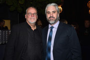 Author Michael Connelly and executive producer Henrik Bastin  attend the after party for the premiere screening for Amazon's first original drama series 'Bosch'  on February 3, 2015 in Hollywood, California.