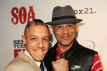 "Theo Rossi David Labrava Screening Of FX's ""Sons Of Anarchy"" - Red Carpet"