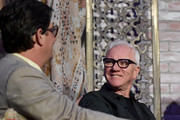 Roman Coppola and Malcolm Mcdowell Photos Photo