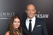 """Kyla Weber (L) and actor Vince Vaughn attend the screening of Summit Entertainment's """"Hacksaw Ridge"""" at Samuel Goldwyn Theater on October 24, 2016 in Beverly Hills, California."""