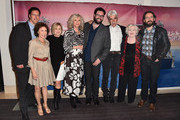 """Bleeker Street CEO, Andrew Karpen, actors Rhea Perlman, Mary Kay Place, Blythe Danner, writer/director Brett Haley, actors Sam Elliott, June Squibb and Martin Starr attend the Los Angeles special screening of Bleeker Street's """"I'll See You In My Dreams""""  at The London Screening Room on May 7, 2015 in West Hollywood, California."""