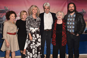 """Actors Rhea Perlman, Mary Kay Place, Blythe Danner, Sam Elliott, June Squibb and Martin Starr attend the Los Angeles special screening of Bleeker Street's """"I'll See You In My Dreams""""  at The London Screening Room on May 7, 2015 in West Hollywood, California."""