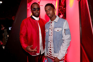 Sean Combs Christian Combs 2018 iHeartRadio Music Awards - Backstage