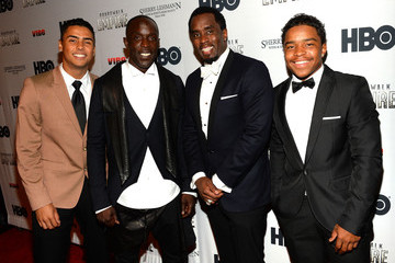"""Sean Combs Michael K Williams HBO """"Boardwalk Empire"""" Season Premiere Hosted By Sean """"Diddy"""" Combs"""