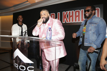 Sean Combs DJ Khaled Special Announcement Press Conference