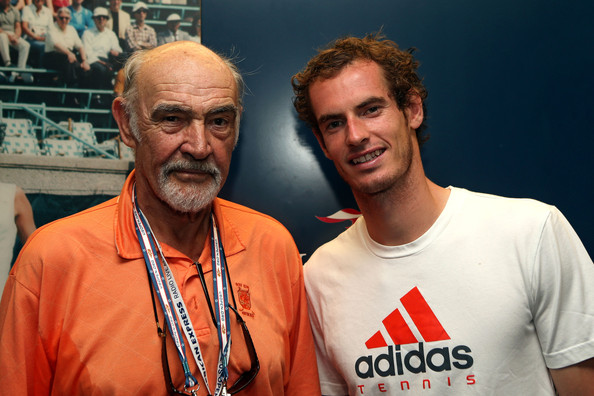 Sean Connery - 2012 US Open - Day 13