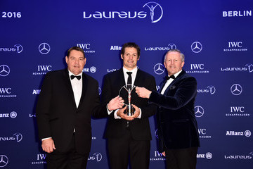 Sean Fitzpatrick Winners Press Conference and Photocalls -  2016 Laureus World Sports Awards - Berlin