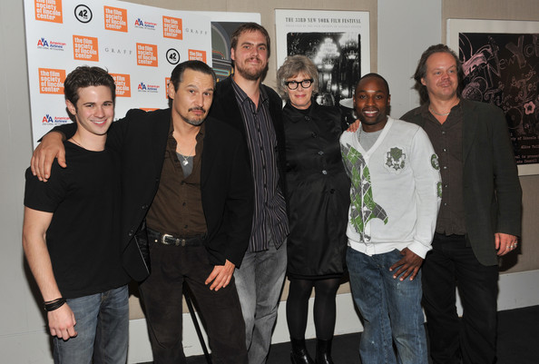"""Stake Land"" New York Premiere [stake land,social group,event,premiere,nick damici,connor paolo,sean nelson,kelly mcgillis,jim mickle,larry fessenden,l-r,new york,premiere]"