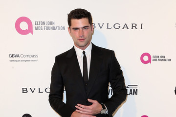 Sean O'Pry Celebrities Attend an Oscar Viewing Party