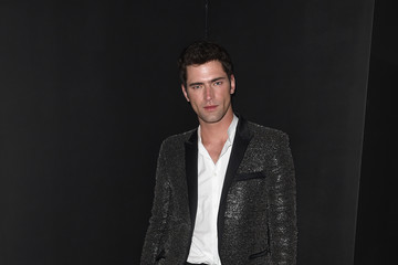 Sean O'Pry Balmain And Olivier Rousteing Celebrate After The Met Gala - Inside
