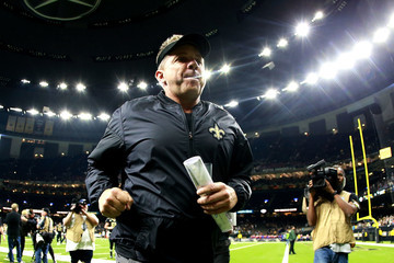 Sean Payton Carolina Panthers v New Orleans Saints