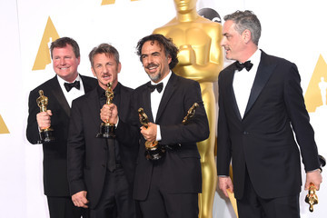 Sean Penn 87th Annual Academy Awards Press Room