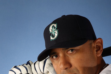 Carlos Guillen Seattle Mariners Photo Day