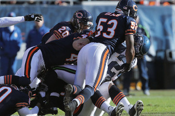 Criag Steltz Seattle Seahawks v Chicago Bears