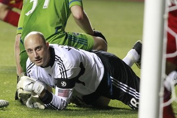 Kasey Keller Seattle Sounders v Real Salt Lake - 1st Leg