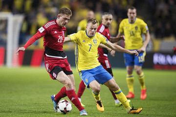 Sebastian Larsson Sweden v Luxembourg - FIFA 2018 World Cup Qualifier