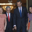 Sebastian Pinera Spanish Royals Receive President Of Chile And His Wife At Zarzuela Palace