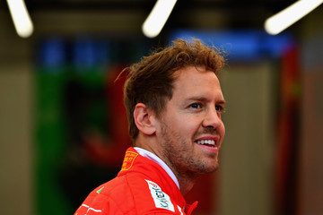 Sebastian Vettel F1 Grand Prix of Great Britain - Previews